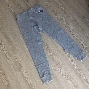 ROOTS Gray Logo Legging Sweatpants, S